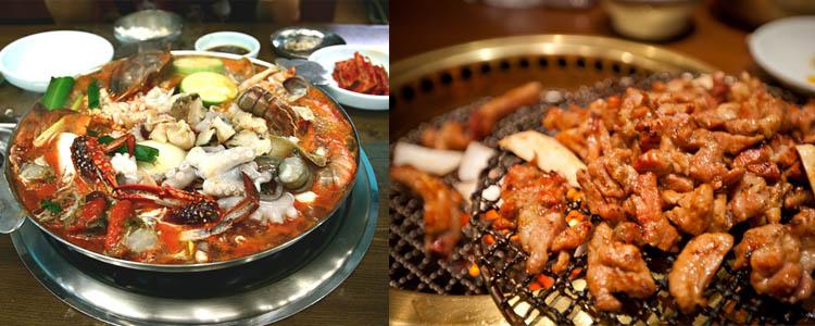 韓国アガシとカルビ